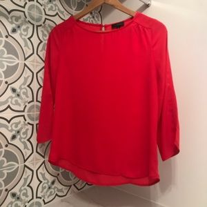 The Limited Pink Sleeve Career Top Blouse XS